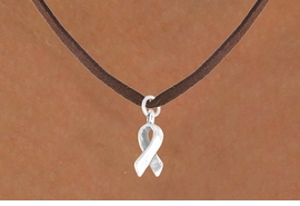<bR>             EXCLUSIVELY OURS!!<BR>CLICK HERE TO SEE 65+ EXCITING<BR> CHANGES THAT YOU CAN MAKE!<BR>            LEAD & NICKEL FREE!!<BR>  W374SN - AWARENESS RIBBON<Br> & NECKLACE FROM $4.50 TO $8.35