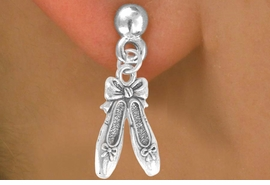 <bR>              EXCLUSIVELY OURS!!<BR>CLICK HERE TO SEE 65+ EXCITING<BR> CHANGES THAT YOU CAN MAKE!<BR>             LEAD & NICKEL FREE!!<BR>    W376SE - BALLET SLIPPERS &<Br>        EARRING FROM $4.50 TO $8.35