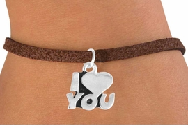 "<bR>             EXCLUSIVELY OURS!!<BR>CLICK HERE TO SEE 65+ EXCITING<BR>  CHANGES THAT YOU CAN MAKE!<BR>             LEAD & NICKEL FREE!!<BR>        W380SB - ""I LOVE YOU"" &<BR>       BRACELET AS LOW AS $4.50"