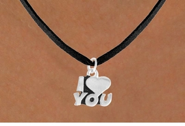 "<bR>             EXCLUSIVELY OURS!!<BR>CLICK HERE TO SEE 65+ EXCITING<BR> CHANGES THAT YOU CAN MAKE!<BR>            LEAD & NICKEL FREE!!<BR>       W380SN - ""I LOVE YOU"" &<Br>      NECKLACE AS LOW AS $4.50"