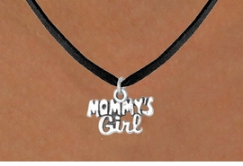 "<bR>              EXCLUSIVELY OURS!!<BR>CLICK HERE TO SEE 65+ EXCITING<BR> CHANGES THAT YOU CAN MAKE!<BR>             LEAD & NICKEL FREE!!<BR>  W382SN - ""MOMMY'S GIRL"" &<Br>       NECKLACE AS LOW AS $4.50"