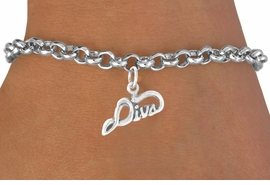 "<bR>             EXCLUSIVELY OURS!!<BR>CLICK HERE TO SEE 65+ EXCITING<BR>  CHANGES THAT YOU CAN MAKE!<BR>             LEAD & NICKEL FREE!!<BR>  W383SB -  ""DIVA"" & BRACELET<Br>                   AS LOW AS $4.50"