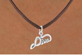 "<bR>               EXCLUSIVELY OURS!!<BR>CLICK HERE TO SEE 65+ EXCITING<BR>  CHANGES THAT YOU CAN MAKE!<BR>             LEAD & NICKEL FREE!!<BR>   W383SN - ""DIVA"" & NECKLACE<Br>                   AS LOW AS $4.50"