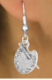 """<bR>             EXCLUSIVELY OURS!!<BR>CLICK HERE TO SEE 65+ EXCITING<BR> CHANGES THAT YOU CAN MAKE!<BR>            LEAD & NICKEL FREE!!<BR> W392SE - """"PAINTER'S PALETTE""""<Br>     & EARRING FROM $4.50 TO $8.35"""