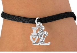 "<bR>             EXCLUSIVELY OURS!!<BR>CLICK HERE TO SEE 65+ EXCITING<BR> CHANGES THAT YOU CAN MAKE!<BR>            LEAD & NICKEL FREE!!<BR>    W396SB - ""I LOVE SKIING"" &<BR>      BRACELET AS LOW AS $4.50"