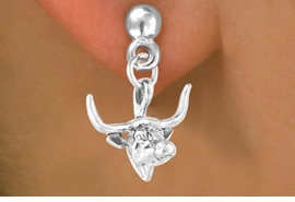 <bR>              EXCLUSIVELY OURS!!<BR>CLICK HERE TO SEE 65+ EXCITING<BR> CHANGES THAT YOU CAN MAKE!<BR>             LEAD & NICKEL FREE!!<BR>W410SE - LONGHORN & EARRING<Br>                FROM $4.50 TO $8.35
