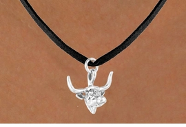 <bR>                EXCLUSIVELY OURS!!<BR>   CLICK HERE TO SEE 65+ EXCITING<BR>    CHANGES THAT YOU CAN MAKE!<BR>               LEAD & NICKEL FREE!!<BR>W410SN - LONGHORN & NECKLACE<Br>                     AS LOW AS $4.50