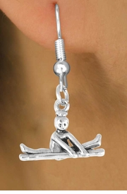 "<bR>                   EXCLUSIVELY OURS!!<BR>     CLICK HERE TO SEE 65+ EXCITING<BR>       CHANGES THAT YOU CAN MAKE!<BR>                  LEAD & NICKEL FREE!!<BR>W418SE - ""BALANCE BEAM GYMNAST""<Br>           & EARRING FROM $4.50 TO $8.35"
