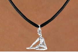 "<bR>             EXCLUSIVELY OURS!!<BR>CLICK HERE TO SEE 65+ EXCITING<BR> CHANGES THAT YOU CAN MAKE!<BR>            LEAD & NICKEL FREE!!<BR> W419SN - ""FLOOR GYMNAST"" &<Br>      NECKLACE AS LOW AS $4.50"