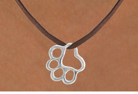 <bR>             EXCLUSIVELY OURS!!<BR>CLICK HERE TO SEE 65+ EXCITING<BR> CHANGES THAT YOU CAN MAKE!<BR>            LEAD & NICKEL FREE!!<BR>     W441SN - PAW & NECKLACE<Br>                  AS LOW AS $5.25