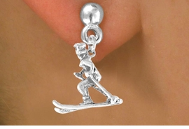 <bR>             EXCLUSIVELY OURS!!<BR>CLICK HERE TO SEE 65+ EXCITING<BR> CHANGES THAT YOU CAN MAKE!<BR>            LEAD & NICKEL FREE!!<BR>       W467SE - SKIER WITH HAT<Br>     & EARRING FROM $4.50 TO $8.35