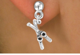 <bR>             EXCLUSIVELY OURS!!<BR>CLICK HERE TO SEE 65+ EXCITING<BR> CHANGES THAT YOU CAN MAKE!<BR>            LEAD & NICKEL FREE!!<BR>     W468SE - SKIES AND BOOTS<Br>     & EARRING FROM $4.50 TO $8.35