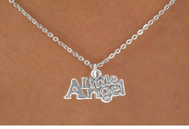 "<bR>           EXCLUSIVELY OURS!! <BR>           LEAD & NICKEL FREE!!<BR>       W14485N - CHILDREN'S <br>      12 INCH CHAIN NECKLACE <br>          WITH ""LITTLE ANGEL""<br>     CHARM FROM 3.55 TO $7.50"