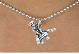 <bR>             EXCLUSIVELY OURS!! <BR>           LEAD & NICKEL FREE!!<BR>  W245SN - GYMNASTICS VAULT<Br>          CHARM AND NECKLACE <br>       AS LOW AS $3.65
