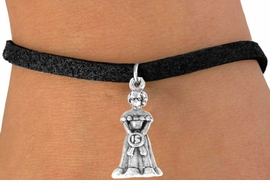 <bR>             EXCLUSIVELY OURS!!<Br>            LEAD & NICKEL FREE!!<BR>W250SB - QUINCEANERA CHARM<Br>   & BRACELET AS LOW AS $4.50