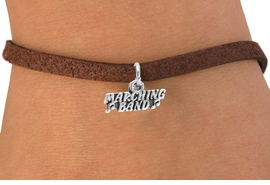 "<bR>                  EXCLUSIVELY OURS!!<Br>                 LEAD & NICKEL FREE!!<BR>        W261SB - ""MARCHING BAND""<Br>CHARM & BRACELET AS LOW AS $4.50"