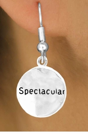 "<bR>       EXCLUSIVELY OURS!!<Br>      LEAD & NICKEL FREE!!<BR>   W275SE - ""SPECTACULAR"" <br>         CIRCLE & EARRINGS <Br>          AS LOW AS $4.50"