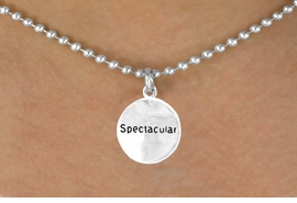"<bR>         EXCLUSIVELY OURS!!<Br>        LEAD & NICKEL FREE!!<BR>     W275SN - ""SPECTACULAR"" CIRCLE<BR>& NECKLACE AS LOW AS $4.50"