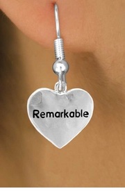"<bR>              EXCLUSIVELY OURS!!<Br>             LEAD & NICKEL FREE!!<BR>W278SE - ""REMARKABLE"" HEART<Br>    & EARRINGS FROM $4.50 TO $8.35"