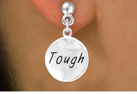 "<bR>          EXCLUSIVELY OURS!!<Br>         LEAD & NICKEL FREE!!<BR>   W279SE - ""TOUGH"" CIRCLE<Br>& EARRINGS FROM $4.50 TO $8.35"