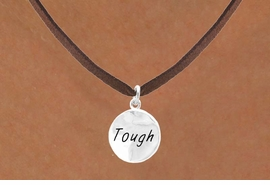 "<bR>         EXCLUSIVELY OURS!!<Br>        LEAD & NICKEL FREE!!<BR>  W279SN - ""TOUGH"" CIRCLE<BR>& NECKLACE AS LOW AS $4.50"