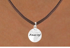 "<bR>           EXCLUSIVELY OURS!!<Br>          LEAD & NICKEL FREE!!<BR>W281SN - ""AMAZING!"" CIRCLE<BR> & NECKLACE AS LOW AS $4.50"
