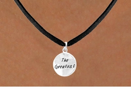 "<bR>        EXCLUSIVELY OURS!!<Br>       LEAD & NICKEL FREE!!<BR>W283SN - ""THE GREATEST""<br>NECKLACE AS LOW AS $4.50"