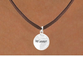"<bR>           EXCLUSIVELY OURS!!<Br>          LEAD & NICKEL FREE!!<BR> W285SN - ""WINNER"" CIRCLE<BR>& NECKLACE AS LOW AS $4.50"