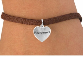 """<bR>                 EXCLUSIVELY OURS!!<Br>                LEAD & NICKEL FREE!!<BR>          W289SB - """"PHENOMENAL""""<br>HEART & BRACELET AS LOW AS $4.50"""