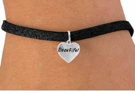 """<bR>           EXCLUSIVELY OURS!!<Br>          LEAD & NICKEL FREE!!<BR>W291SB - """"BEAUTIFUL"""" HEART<Br> & BRACELET AS LOW AS $4.50"""