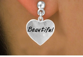 "<bR>            EXCLUSIVELY OURS!!<Br>           LEAD & NICKEL FREE!!<BR>W291SE - ""BEAUTIFUL"" HEART<Br>& EARRINGS FROM $4.50 TO $8.35"