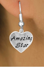 "<bR>                 EXCLUSIVELY OURS!!<Br>                LEAD & NICKEL FREE!!<BR>          W297SE - ""AMAZING STAR""<Br>HEART & EARRINGS FROM $4.50 TO $8.35"