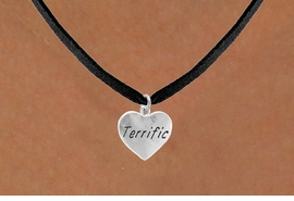 "<bR>          EXCLUSIVELY OURS!!<Br>         LEAD & NICKEL FREE!!<BR> W307SN - ""TERRIFIC"" HEART<br>& NECKLACE AS LOW AS $4.50"
