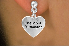 "<bR>           EXCLUSIVELY OURS!!<Br>          LEAD & NICKEL FREE!!<BR>          W309SE - ""THE MOST<Br>OUTSTANDING"" HEART CHARM<Br> & EARRINGS FROM $4.50 TO $8.35"