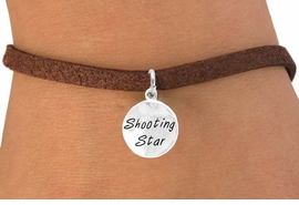 "<bR>          EXCLUSIVELY OURS!!<Br>         LEAD & NICKEL FREE!!<BR> W316SB - ""SHOOTING STAR""<BR>& BRACELET AS LOW AS $4.50"