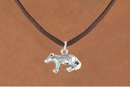 <bR>           EXCLUSIVELY OURS!!<Br>          LEAD & NICKEL FREE!!<BR>   W326SN - BADGER CHARM<br>& NECKLACE AS LOW AS $4.50