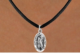 <bR>        EXCLUSIVELY OURS!!<Br>       LEAD & NICKEL FREE!!<BR>W328SN - ST. CHRISTOPHER<Br>        CHARM & NECKLACE<bR>        FROM $4.50 TO $8.35