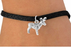 <bR>            EXCLUSIVELY OURS!!<Br>           LEAD & NICKEL FREE!!<BR>W330SB - ELK OR BUCK CHARM<Br>   & BRACELET AS LOW AS $4.50