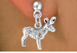 <bR>            EXCLUSIVELY OURS!!<Br>           LEAD & NICKEL FREE!!<BR>W330SE - ELK OR BUCK CHARM<Br>   & EARRING FROM $4.50 TO $8.35