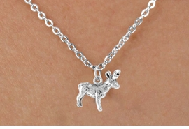 <bR>            EXCLUSIVELY OURS!!<Br>           LEAD & NICKEL FREE!!<BR>W330SN - ELK OR BUCK CHARM<br>  & NECKLACE AS LOW AS $4.50