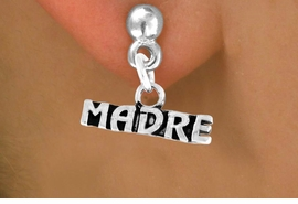"<bR>       EXCLUSIVELY OURS!!<Br>      LEAD & NICKEL FREE!!<BR>      W340SE - ""MADRE"" &<Br>EARRINGS FROM $4.50 TO $8.35"