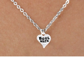 "<bR>             EXCLUSIVELY OURS!!<Br>            LEAD & NICKEL FREE!!<BR>  W342SN - ""SOUL MATE"" HEART<br>& NECKLACE FROM $4.50 TO $8.35"