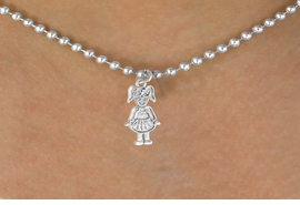 <bR>        EXCLUSIVELY OURS!!<Br>       LEAD & NICKEL FREE!!<BR>   W347SN - TAP DANCER &<br>NECKLACE AS LOW AS $4.50