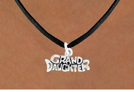 "<bR>           EXCLUSIVELY OURS!!<Br>          LEAD & NICKEL FREE!!<BR>W352SN - ""GRANDDAUGHTER""<Br>   NECKLACE AS LOW AS $4.50"