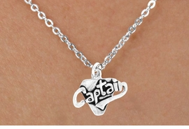 "<bR>        EXCLUSIVELY OURS!!<Br>       LEAD & NICKEL FREE!!<BR>     W353SN - ""CAPTAIN"" &<Br>NECKLACE AS LOW AS $4.50"