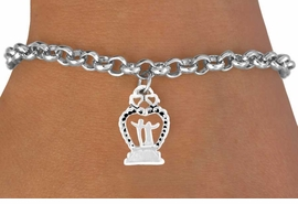 "<bR>             EXCLUSIVELY OURS!!<Br>            LEAD & NICKEL FREE!!<BR>   W354SB - ""WEDDING HEART""<Br>& BRACELET FROM $4.50 TO $8.35"