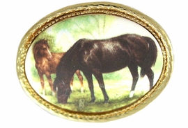 <bR>                 EXCLUSIVELY OURS!!!<bR>W11841P - GOLD TONE MARE & FOAL<br>          OVAL PIN AS LOW AS $5.60