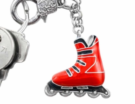 <Br>                        EXCLUSIVELY OURS!!!<bR>    W5892KC - DETACHABLE RED & BLACK<Br>ROLLERBLADE KEYCHAIN AS LOW AS $1.99