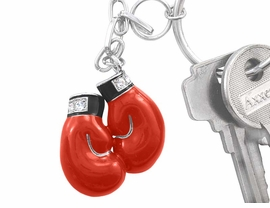 <bR>             EXCLUSIVELY OURS!!!<bR>W5900KC - RED BOXING GLOVES<br>      KEYCHAIN AS FROM $3.94 TO $8.75