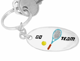 "<BR>                      EXCLUSIVELY OURS!!!<bR>      W9289KC - ""GO TEAM"" 3-D TENNIS<br>SILVER TONE KEY CHAIN AS LOW AS $1.99<br>   EXCLUSIVELY OURS! WE ARE THE ONLY<Br>                          MANUFACTURER!"
